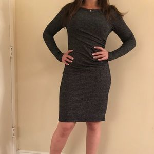 Chic Ann Taylor charcoal dress (size XSP)
